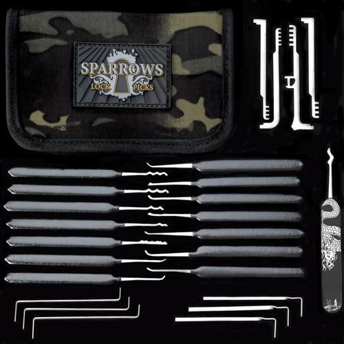 Sparrows VORAX complete professional cylinder lock access kit