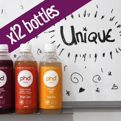PHD 350ml Wholesale Pack - 12 Pack save 15%