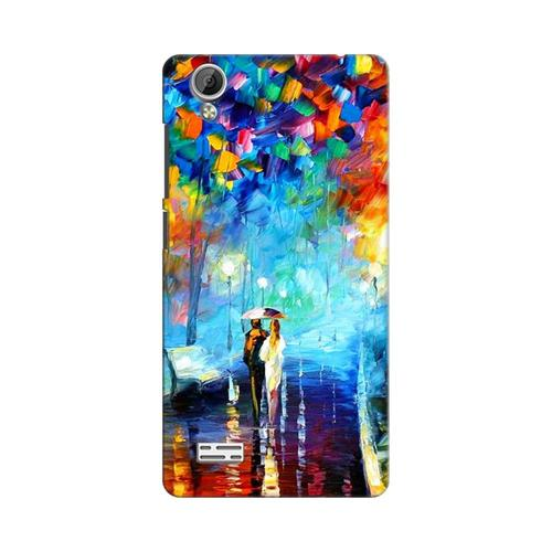 14eadea41 Mangomask Vivo Y31L Mobile Phone Case Back Cover Custom Printed Designer  Series Romantic Couple Walk
