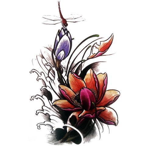 Lotus & Libellule