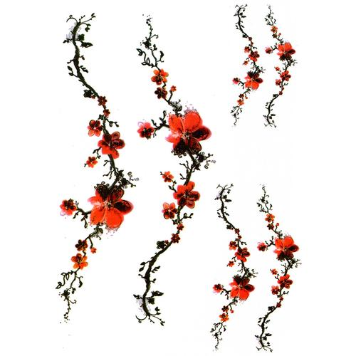 Red Flowers Branch