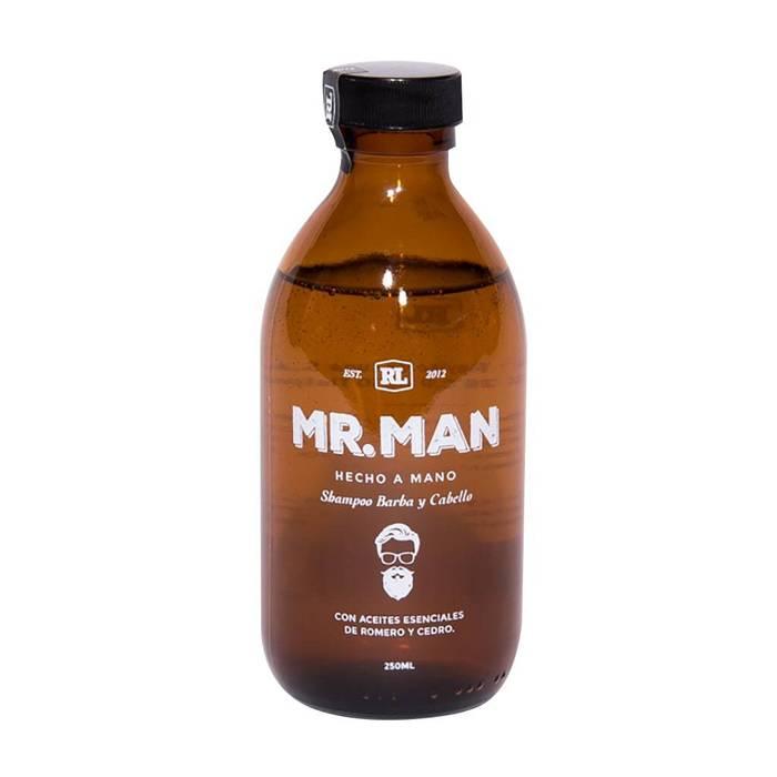 Mr. Man - Shampoo para Barba y Cabello