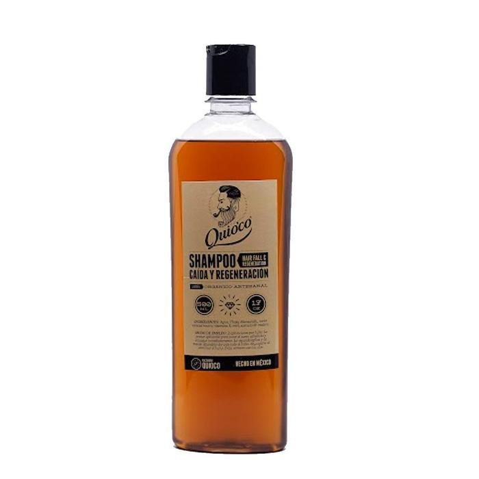 Quio'co - Shampoo para Caída y Regeneración de Cabello Manzanilla 500ml