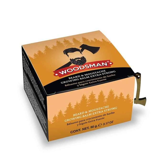Woodsman - Bálsamo de Crecimiento de Barba y Bigote Extra Fuerte 5% 75g
