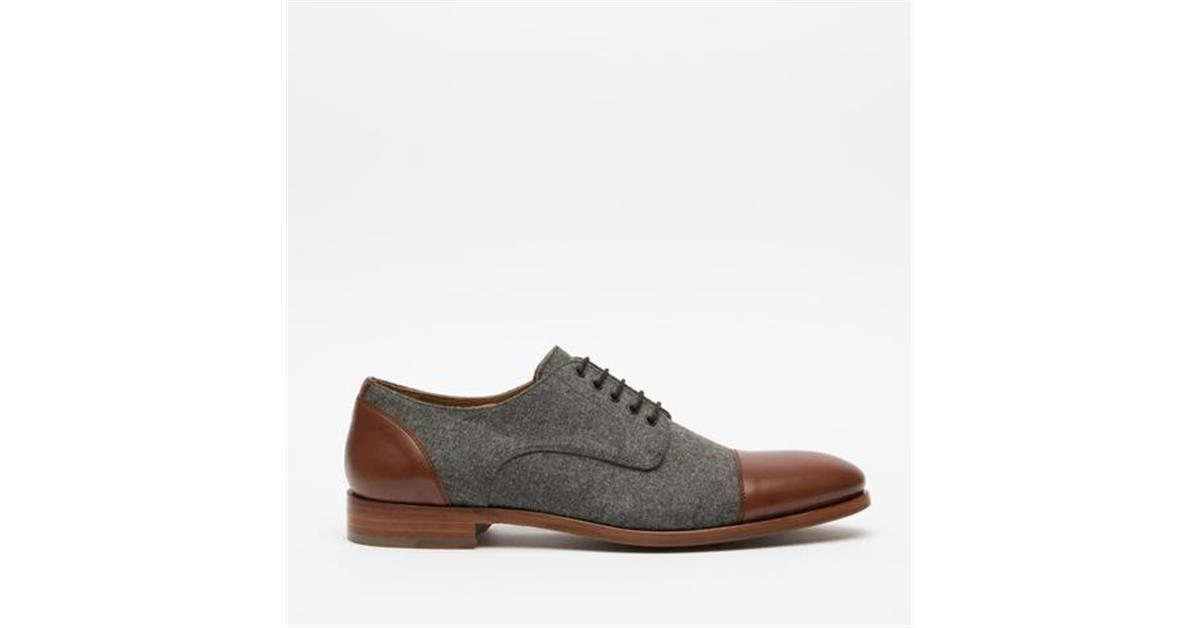 d1d24371682f The Jack Shoe in Grey Brown