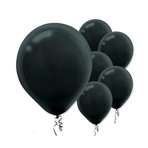 Black Balloons, 15 pack