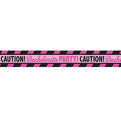 Bachelorette Party Caution Tape, 30 ft.
