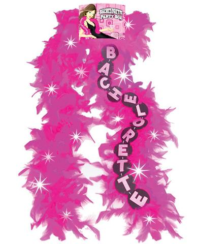 Flashing Pink Boa, Bachelorette, 1 pc