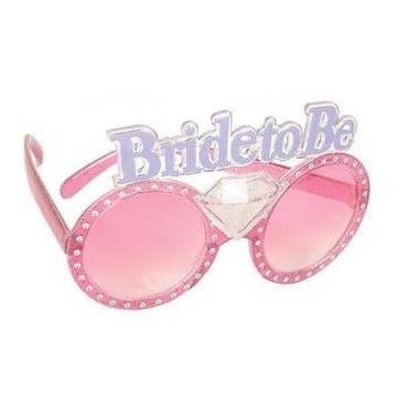 Bride to Be Fun Bling Glasses