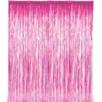 Pink Shiny Door Fringe, 1 pkg