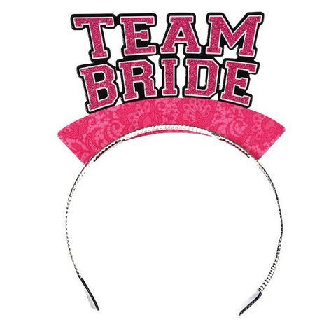Team Bride Headbands, 6 pk