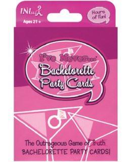 'I've Never' Bachelorette Card Game