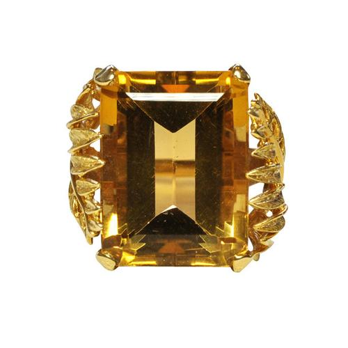 Citrine Dress Ring