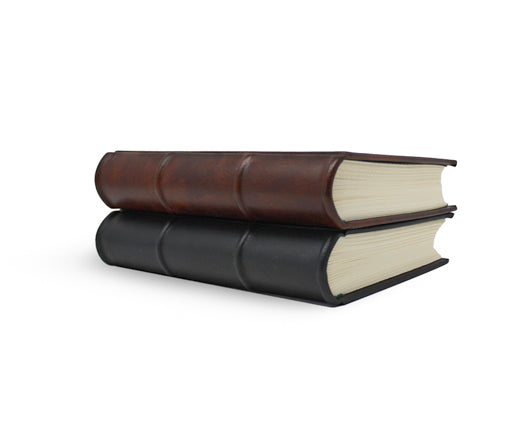 Extra Thick Black Leather Journal