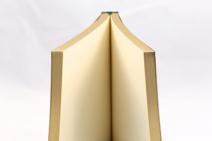 Journal Refill/Insert - Unlined & gilded pages (in 2 sizes)