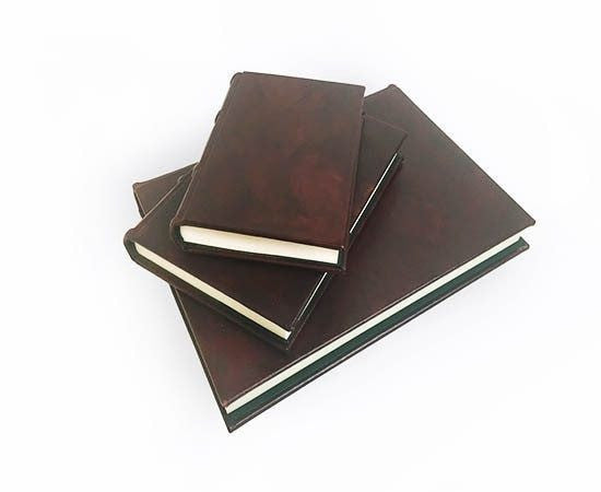 Classic Handmade Leather Journal - Refillable (3 Sizes)