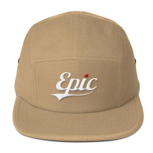 Epic Five Panel Cap