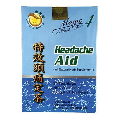 Magic 4 Headache Aid Herbal Tea