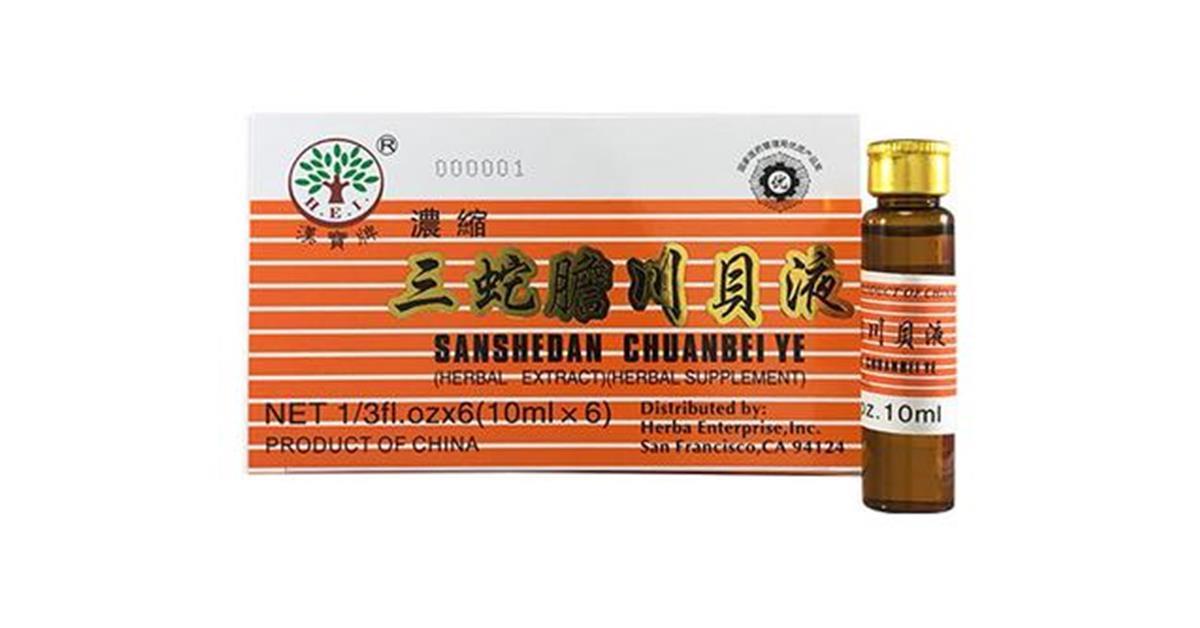 Sanshedan Chuanbei Ye Fritillary Bulb Extract