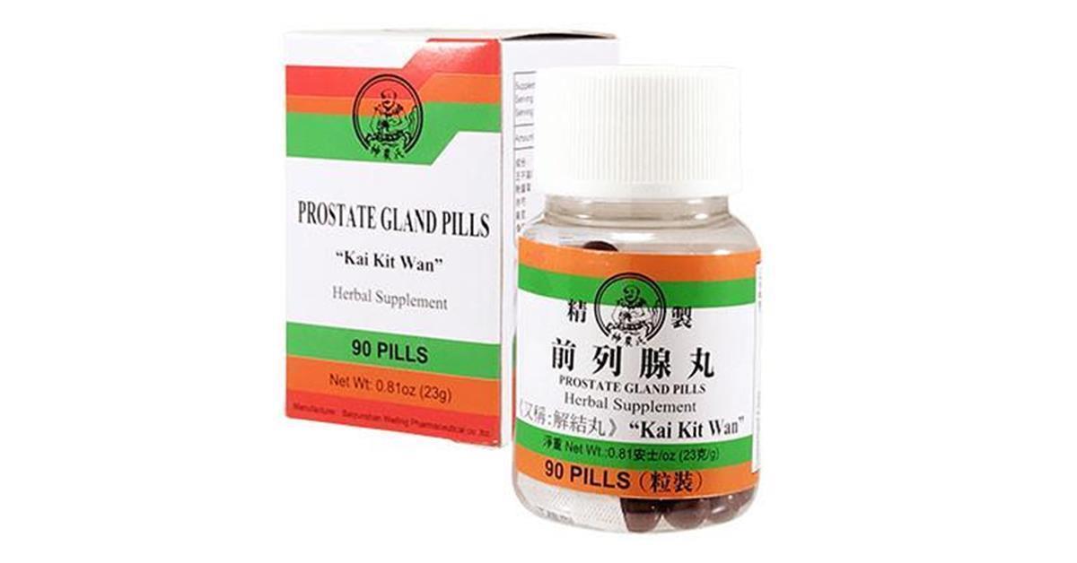 Kai Kit Wan Classic Prostate Gland Pills