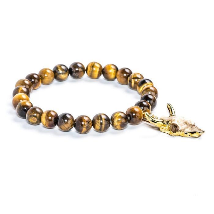 Tiger's Eye Longhorn Bracelet
