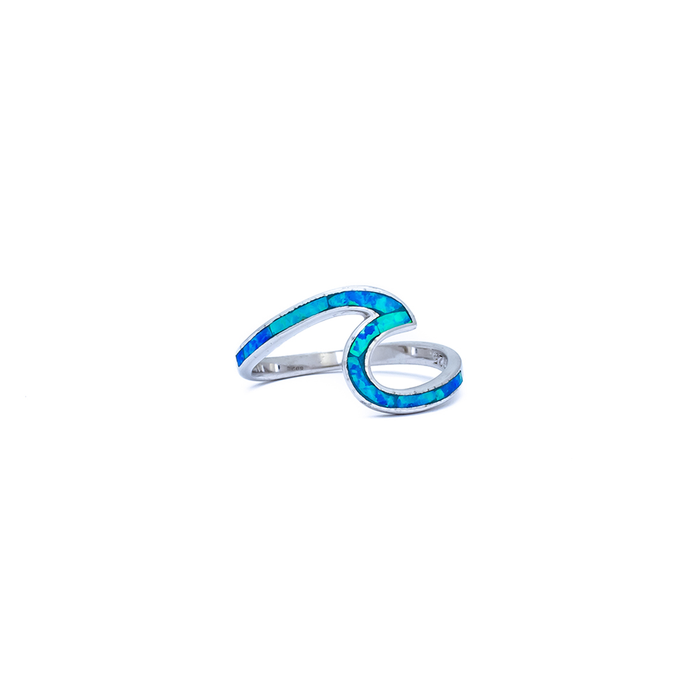 PRE ORDER - Paradise Blue Wave Ring