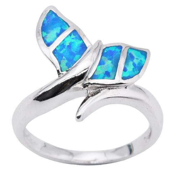 Whale Tale Ring (Silver)