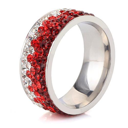 Lava Sunset Shimmer Ring