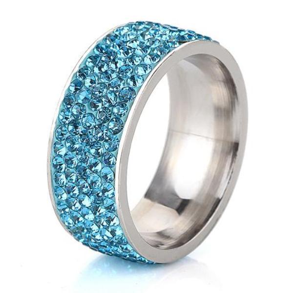 Paradise Blue Shimmer Ring