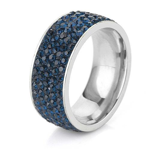 Sapphire Sea Shimmer Ring