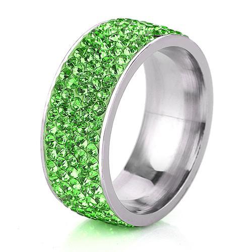 Four Leaf Clover Shimmer Ring
