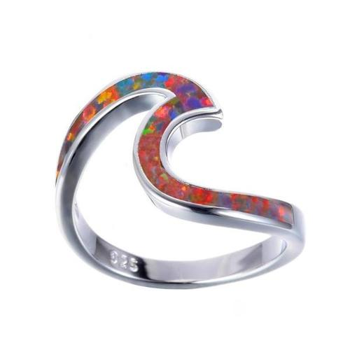 Red Sea Wave Ring