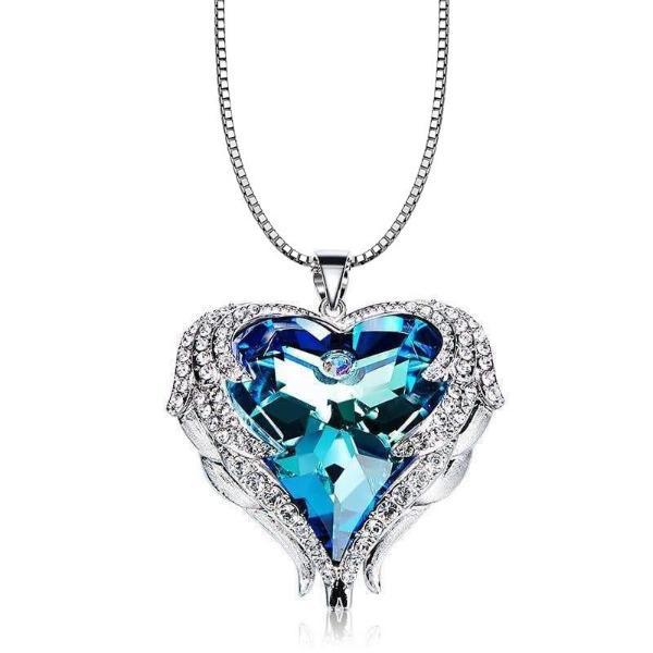 Swarovski Angel Heart Pendant