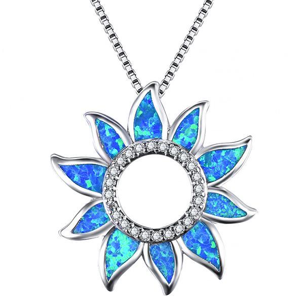 Blazing Petals Pendant