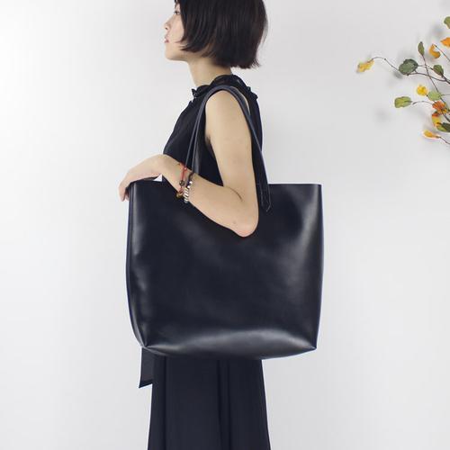 da7ee1bee0 Genuine Black Leather Handbag Shoulder Bag Large Tote Women Leather Shopper  Bag 14082