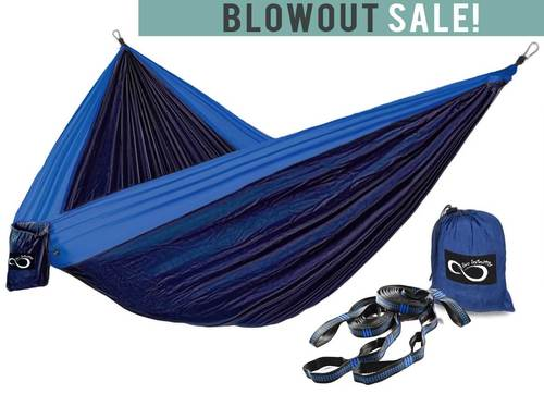 Double Camping Hammock With Tree Straps (Original Style)
