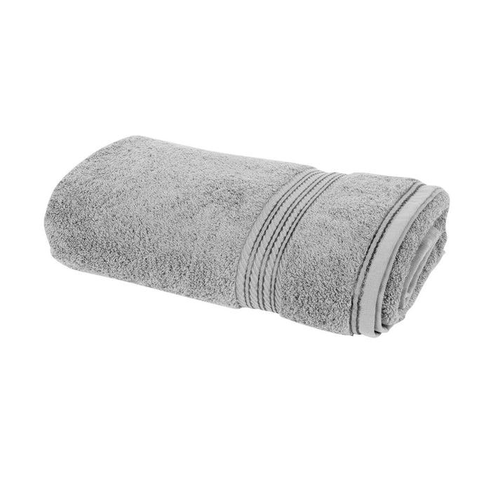 Hampton and Astley 100% Egyptian Cotton Luxury Bath Sheet, Subtle Grey