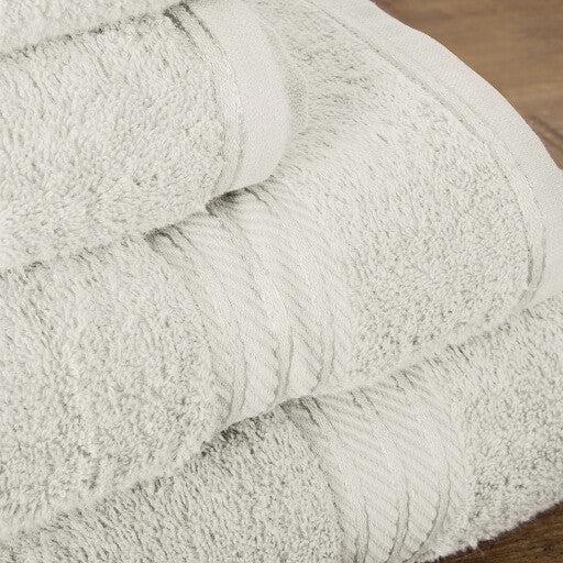 Hampton and Astley 100% Egyptian Cotton Luxury Bath Sheet, Cream