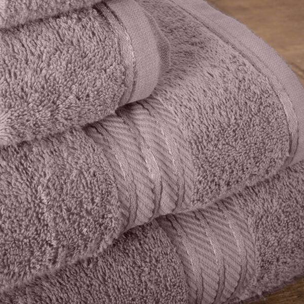 Hampton and Astley 100% Egyptian Cotton Luxury Bath Sheet, Lavender