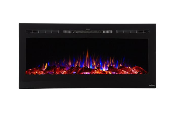 "Sideline 45 80025 45"" Recessed Electric Fireplace"