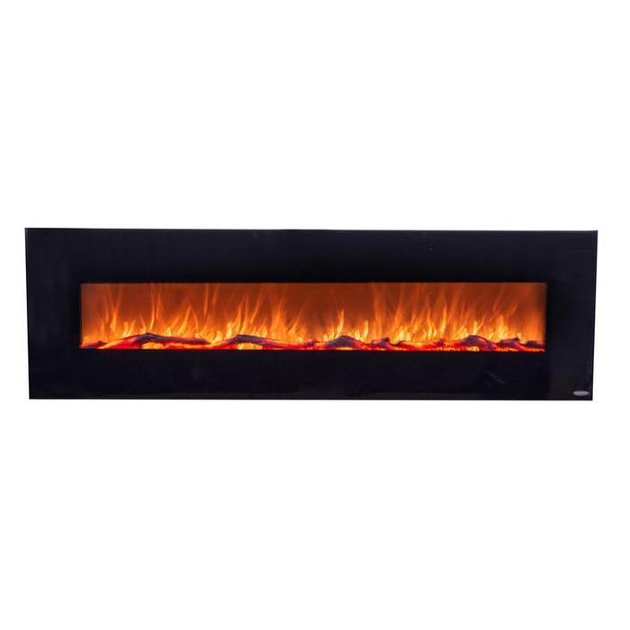 "OnyxXL 80005 Refurbished 72"" Wall Mounted Electric Fireplace"