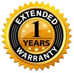 """1 Year Extended Warranty - For Electric Fireplaces 50"""" and smaller"""