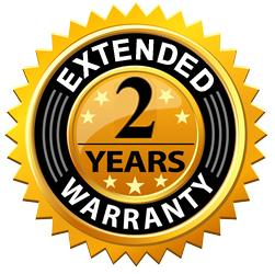 """2 Year Extended Warranty - For Electric Fireplaces 60"""" or larger and Emblazon Series"""