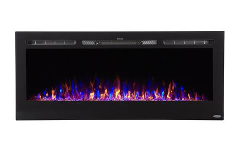 "Sideline 50 80004 50"" Recessed Electric Fireplace"