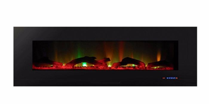 """ValueLine 60 80018 60"""" Recessed Electric Fireplace"""