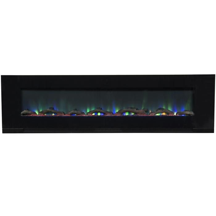 """ValueLine 72 80019 72"""" Recessed Electric Fireplace"""