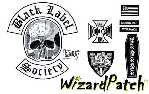 Black Label Society BLS DOOM CREW set + FREE BONUS