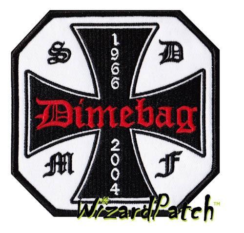 Black Label Society DIMEBAG TRIBUTE PATCH