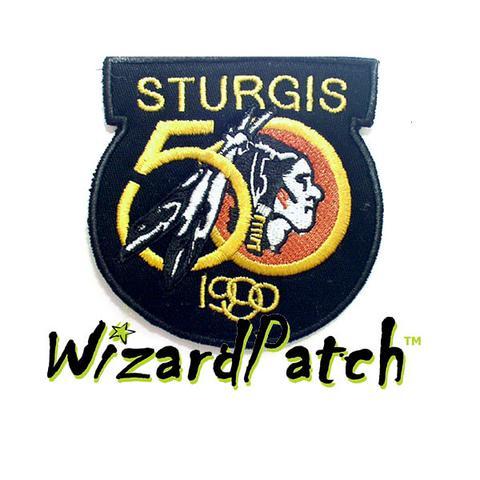 STURGIS 50 1990 PATCH