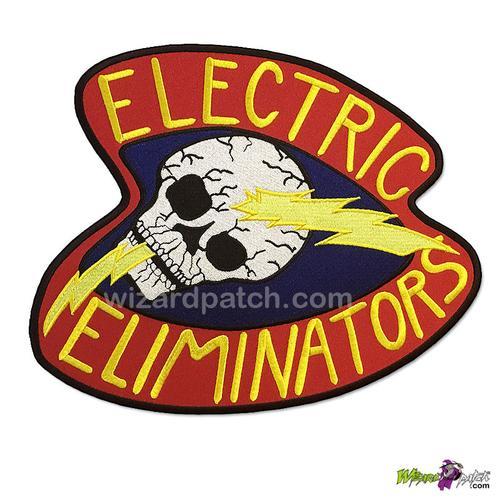 """ELECTRIC ELIMINATORS, THE WARRIORS MOVIE LARGE VEST PATCH 10"""""""